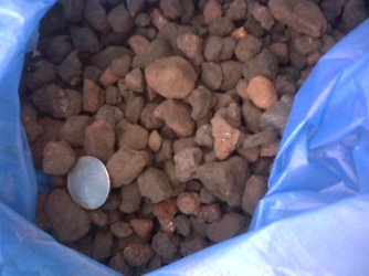 High Density and High Specific Gravity Iron Ore Lumps