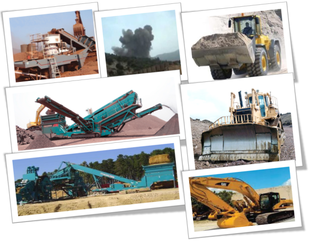 Mining Equipments, Rent, Hire with us